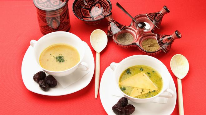 モロッコ タジンや - 料理写真:モロッコのスープ「ハリラ」