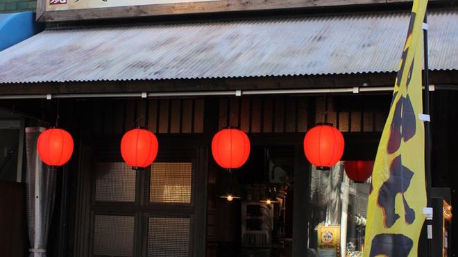 新世界じゃんじゃん横丁 串かつ 勝大 - 内観写真:こちらの看板が目印!駅ちかなのでお気軽院お立ち寄りください。