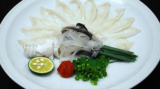 向島 平岡 - 料理写真:ふぐ刺し