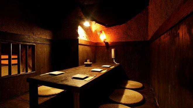 カーヴ 隠れや - 内観写真:様々なシーンに合う個室も完備!!