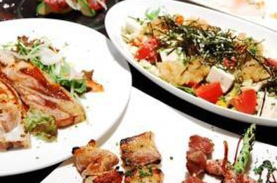美麗酒場 couta - 料理写真:▲「飲み放題込みコース 3,500円~」 ※コース内容は季節や仕入れにより変わります。写真は一例です。