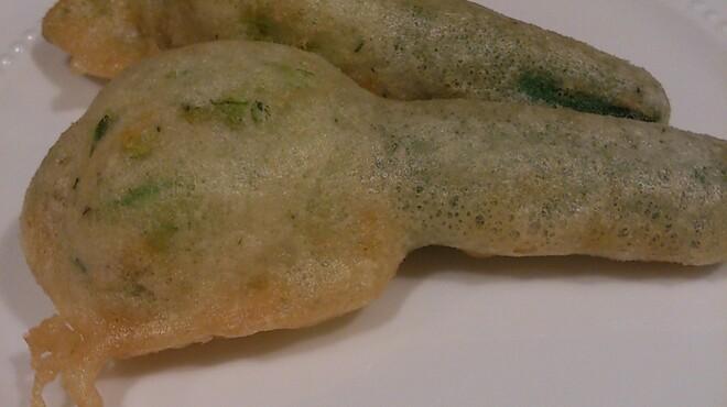 ナビリオ - 料理写真:花付きズッキーニのフリット