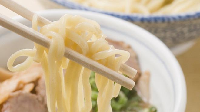 まるげん - 料理写真:自家製たれをつけてどうぞ『特製太麺つけそば』