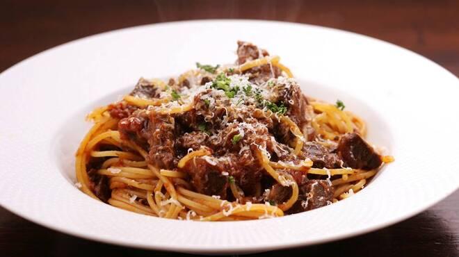 まくら木 - 料理写真:◆エゾ鹿肉のボロネーゼ◆エゾ鹿肉をラグーにしました。くせのない濃厚な味わいをお楽しみください。