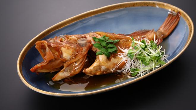 長助 まつえ - 料理写真:カサゴ(小伊津)800~1500円 唐揚げも美味。
