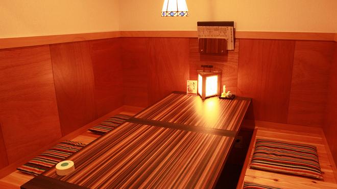 居酒屋 はる坊 - 内観写真:個室の座敷でじっくりと