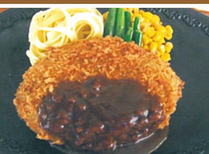 モンブラン - 料理写真:ジャンボメンチカツ