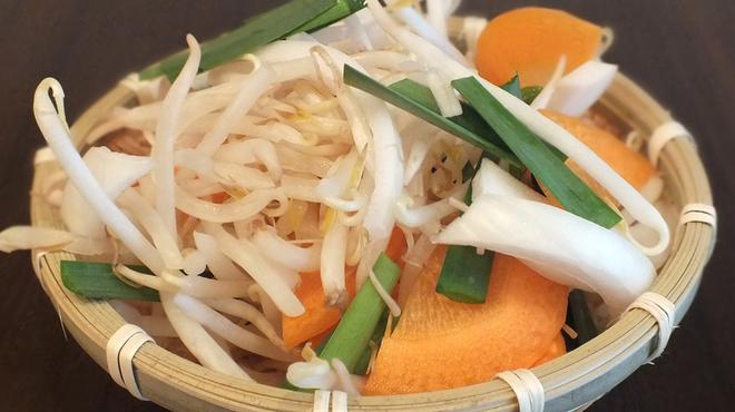 ジンギスカン らむすけ - 料理写真:シャキシャキ♪「お野菜盛り」