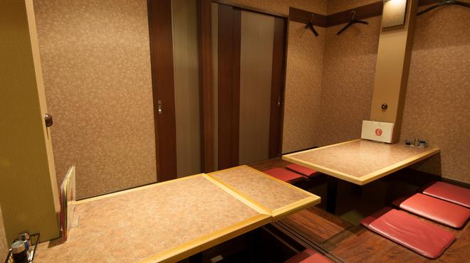 カジュアルダイニング ちゃあむ - 内観写真:プライベート感覚で楽しめる個室