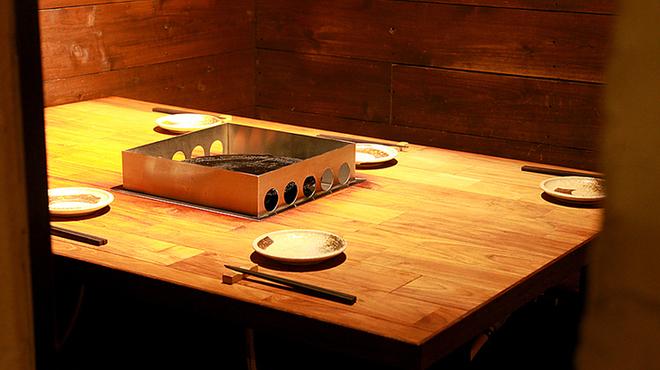 石庵 - 内観写真:テーブル
