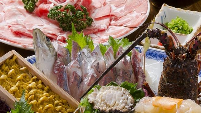 魚将 さかなちゃん - 料理写真:とれたて新鮮のおいしさを活かした磯料理。