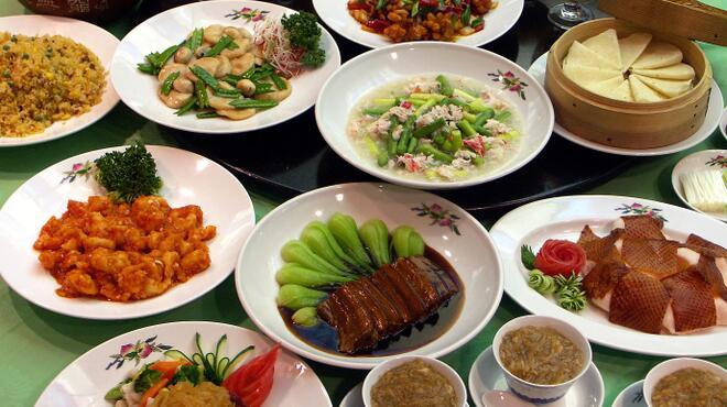 香港園 - 料理写真:宴会コース例