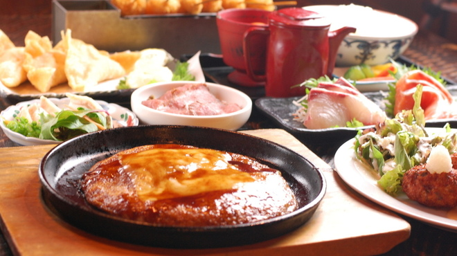 うたげや 宴・場 - 料理写真:◆お料理8品【飲み放題付】コース 3,000円 ※3名様以上。前日までに要予約。