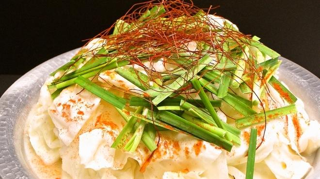 夢家 - 料理写真:この夏の新MENU☆白もつ鍋☆Wコラーゲンで美肌効果に期待大!!