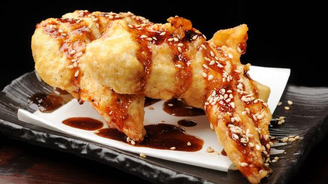 京都ハナビ - 料理写真:名物 『京赤手羽先の唐揚げ』 これは生ビールが進みます!