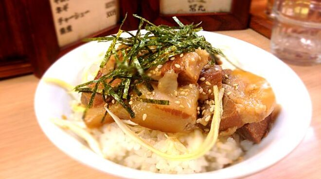 醤丸 - 料理写真:  角煮めし