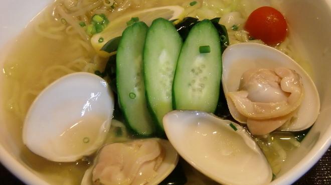 麺屋海神 - 料理写真:冷はまぐりらぁめん