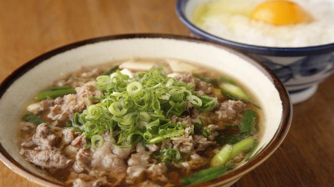 千とせ - 料理写真:人気の定番『肉吸い、小玉』