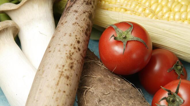 心水 - 料理写真:新鮮な旬野菜もたっぷりご用意◎