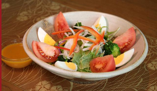 和家 えん - 料理写真:和家サラダ787円。まずはサラダでさっぱり。女性にも人気です