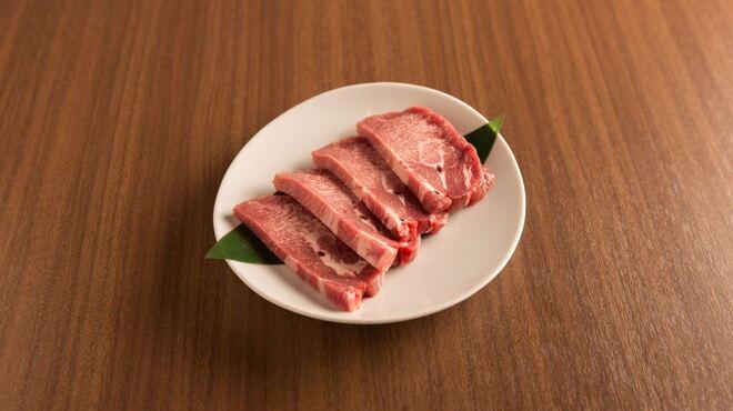 牛8 - 料理写真:厚切り牛タン