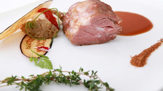 スリオラ - 料理写真:36時間調理された北海道しずお農場産仔羊