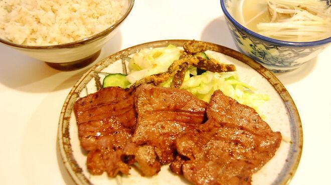 味太助 - 料理写真:牛タン定食