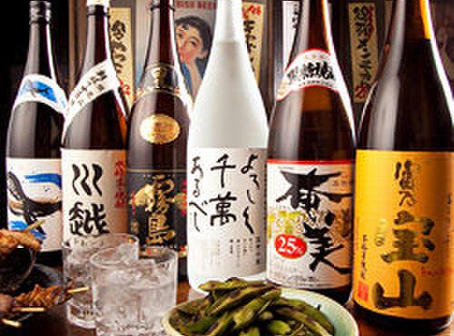 筑前屋 - 料理写真:【自慢の焼酎】 日本各地の名産が勢ぞろい。
