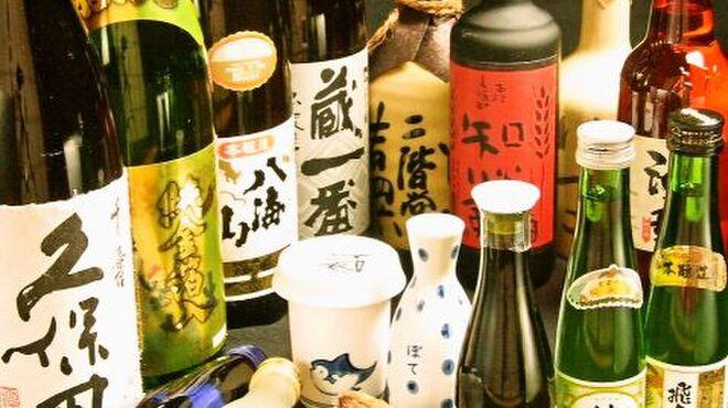ぼて - 料理写真:日本酒や焼酎も充実♪  絶品料理にはうまいお酒も必要♪ふぐ料理に合う各種日本酒や焼酎も数多くそろっております!