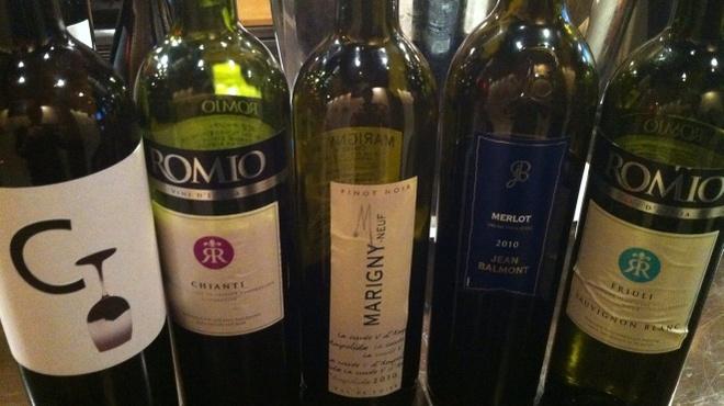 VIVACE.S - 料理写真:世界各国のオススメワイン
