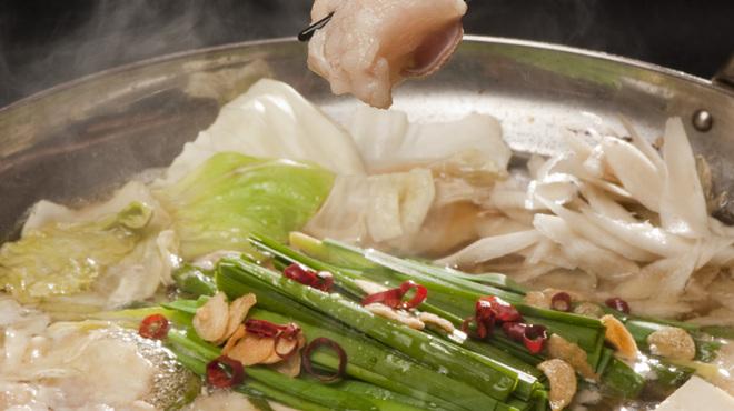 酔灯屋 - 料理写真:[もつ鍋] 絶品のしょうゆ味です。一人前から楽しめる!
