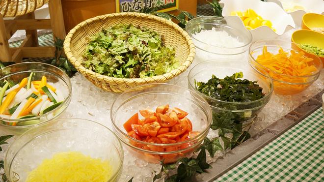 旬菜食健 ひな野 - 料理写真:安心・安全なお野菜はサラダで食べればより野菜のおいしさがわかります。