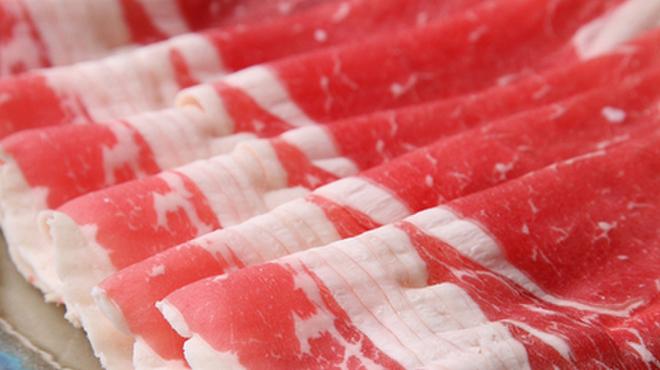 しゃぶ亭 - 料理写真:お肉の質が命!