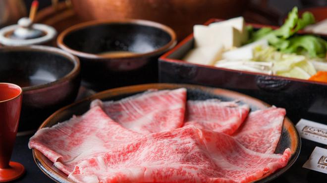 しゃぶ亭 - 料理写真:コースでボリュームもたっぷり『特選黒和牛しゃぶコース』
