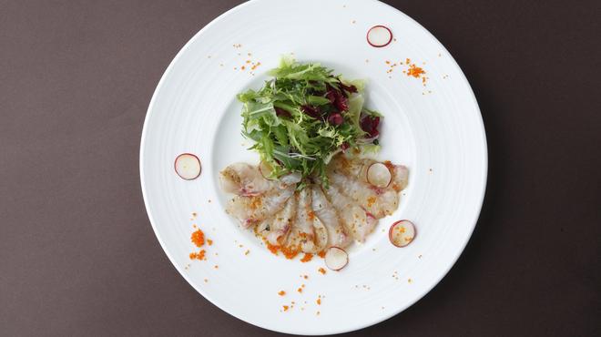 フェアファックス グリル - 料理写真:本日の鮮魚のカルパッチョ