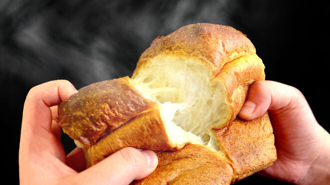 石窯パン工房 グレンツェン - 料理写真:「杵つき食パン」