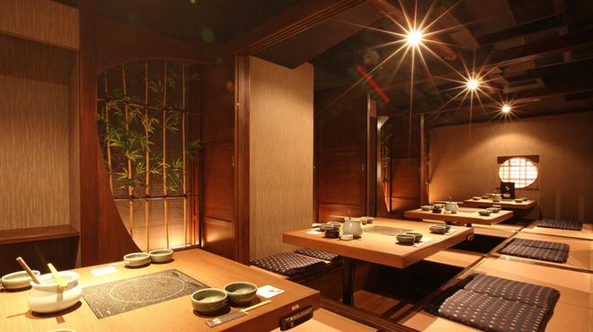 牛禅 - 内観写真:最大60名様までOKな個室。会社のご宴会、飲み会に!