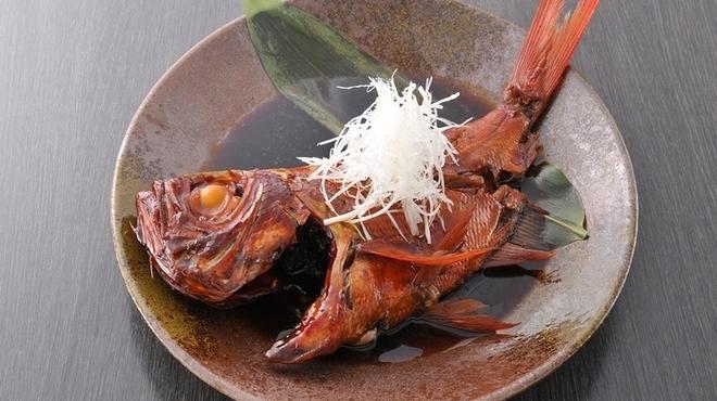 海鮮居酒屋さんせん - 料理写真:『金目鯛煮付け 丸煮』