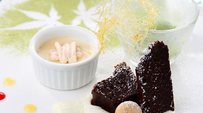 龍のひげ - 料理写真:『デザート』 京野菜も取り入れた、思わず胸が躍るようなデザート。ゆっくりと寛ぎながら、お楽しみください。