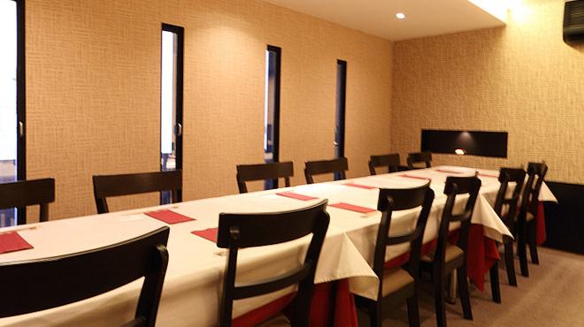龍のひげ - 内観写真:≪人気に付きお早目のご予約を≫16名様までの完全個室のお席、貸切も承っております。