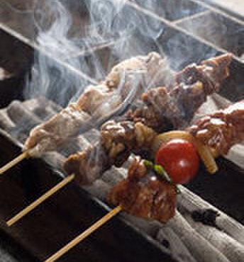 やきとり 弥七 - 料理写真:アボカド巻!レタス巻!うずらの半熟煮たまご串!熱々をいつもお召し上がり頂けます♪