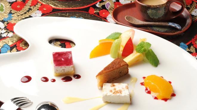 Animo - 料理写真:目にも鮮やか「シェフのこだわりのデザート」