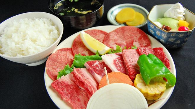 焼肉 牛義 - 料理写真:ランチ レディースセット