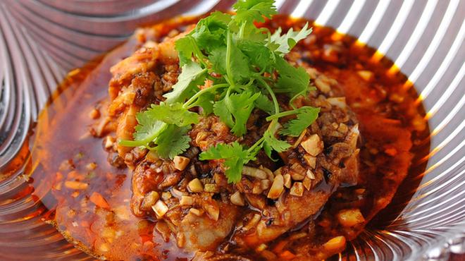 結華楼 - 料理写真:香りと辛みが楽しめる四川よだれ鶏