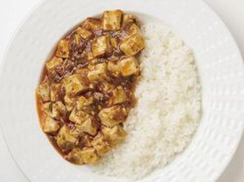 担々麺 錦城 - 料理写真:四川麻婆豆腐(ごはん、スープ付き)740円