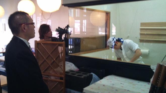 千本桜 - 内観写真:テレビ取材も沢山来て頂いております。