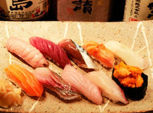 肴や 呉平 - 料理写真:寿司一例