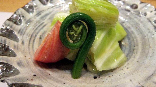 ままごとや - 料理写真:季節の旬なお野菜にも心を配っております。