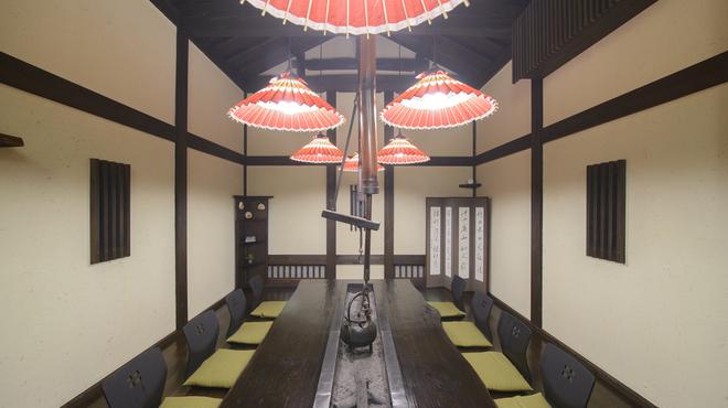 しまだ別邸饗 - 内観写真:蔵 個室