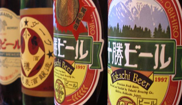 どさんこかに食堂 - 料理写真:個性豊かな味わいの北海道ビールもご用意しております。その他、北の大地より取り寄せたお酒多数ご用意しておりますので是非ご賞味くだださいませ♪